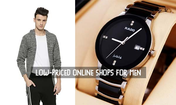 Low-Priced Online Shops for Men
