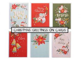 Christmas Greetings on Cards